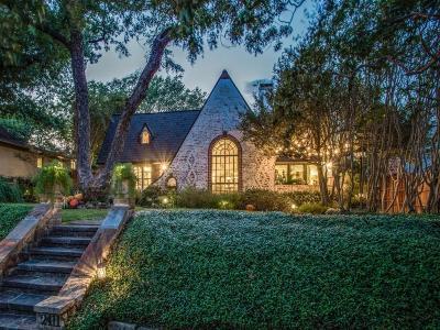 Dallas Single Family Home For Sale: 2411 Auburn Avenue