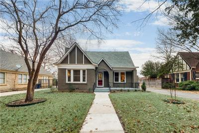 Fort Worth Single Family Home Active Contingent: 2139 Stanley Avenue