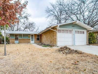 Garland Single Family Home For Sale: 4205 Glenhaven Drive