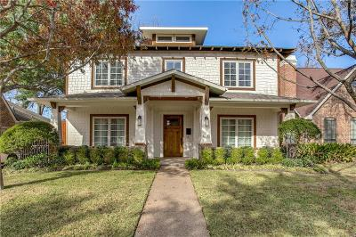 Dallas Single Family Home For Sale: 6131 Palo Pinto Avenue