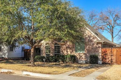 Fort Worth Single Family Home For Sale: 3332 W 4th Street