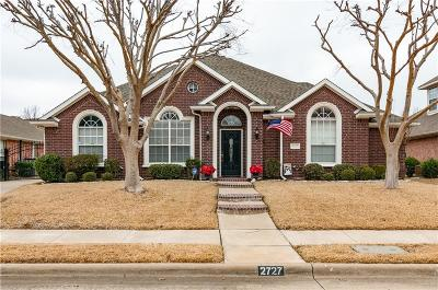Keller Single Family Home Active Option Contract: 2727 Wildcreek Trail