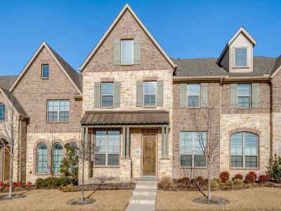 McKinney Townhouse For Sale: 7204 Kickapoo Drive