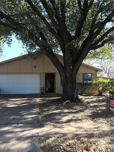 Garland Residential Lease For Lease: 334 Clover Lane