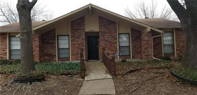 Garland Single Family Home For Sale: 3534 Arbor Trail