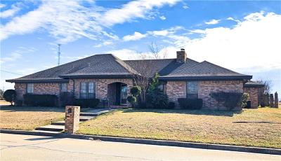 Weatherford Single Family Home For Sale: 413 W Park Avenue