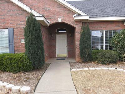 Abilene Single Family Home Active Option Contract: 1626 Smith Drive