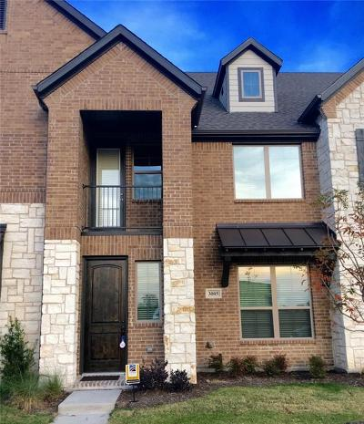 McKinney Townhouse For Sale: 3109 Decker Drive