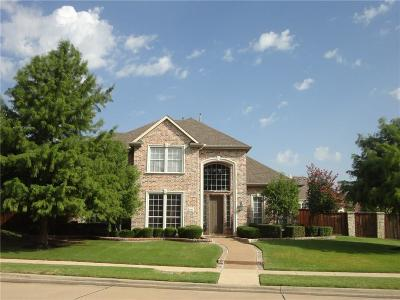 Frisco Single Family Home Active Option Contract: 2298 Crystal Falls Drive