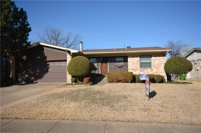 Garland Single Family Home For Sale: 4505 Cornell Drive