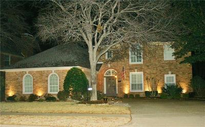 Coppell Single Family Home Active Contingent: 830 Greenway Drive