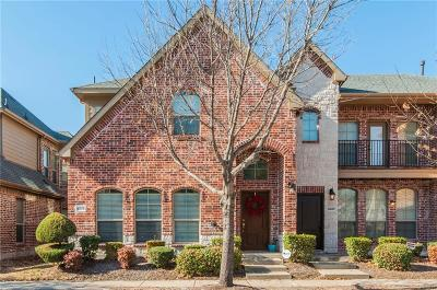 Frisco Townhouse For Sale: 5579 Cecina Drive