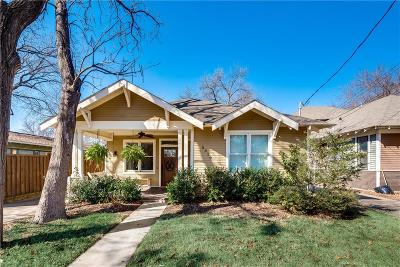 Dallas Single Family Home For Sale: 5319 Worth Street