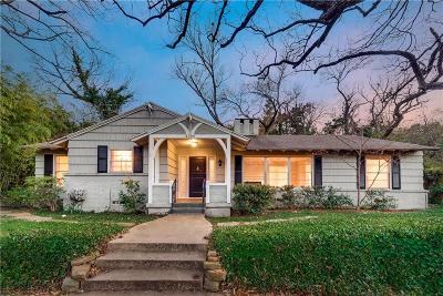 Dallas Single Family Home For Sale: 4280 Shorecrest Drive