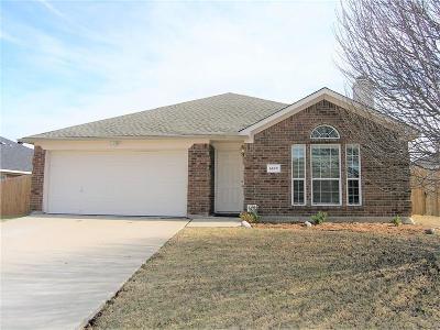Arlington Single Family Home For Sale: 6109 Winter Park Lane
