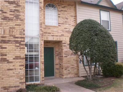 Garland Townhouse For Sale: 3618 Clubview Drive