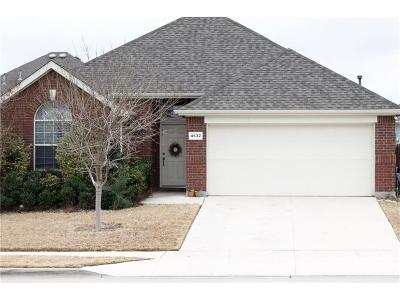 Fort Worth Single Family Home Active Option Contract: 4632 Lance Leaf Drive