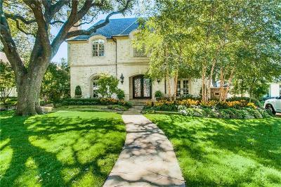University Park Single Family Home For Sale: 3249 Greenbrier Drive