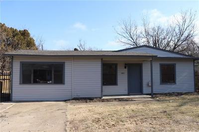 Arlington TX Single Family Home For Sale: $144,900
