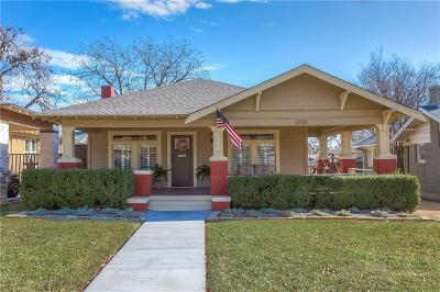 Fort Worth Single Family Home For Sale: 2001 Carleton Avenue