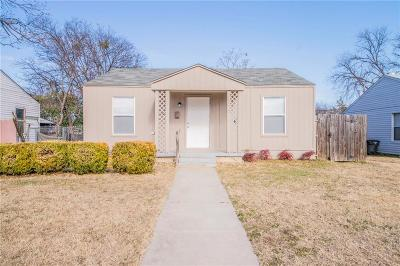 Fort Worth Single Family Home For Sale: 7660 Osbun Street