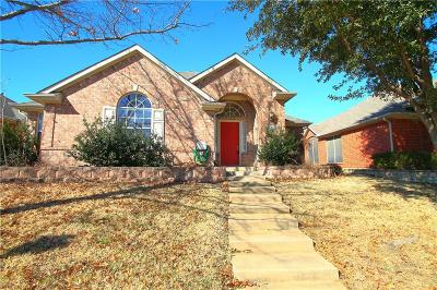 Carrollton Single Family Home For Sale: 3629 Stockton Drive