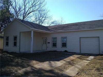 Dallas Single Family Home For Sale: 4531 Colwick Drive