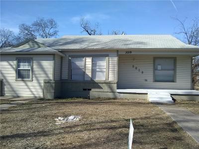 Dallas Single Family Home For Sale: 3019 Kilburn Avenue