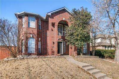 Allen TX Single Family Home For Sale: $270,000