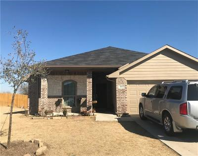 Terrell Single Family Home Active Option Contract: 262 Meadowcrest Drive