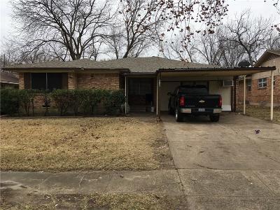 Dallas Single Family Home For Sale: 8730 Blossom Lane