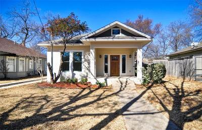Dallas Single Family Home For Sale: 5415 Victor Street