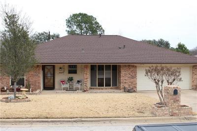 Arlington Single Family Home Active Option Contract: 4909 Shady Springs Drive