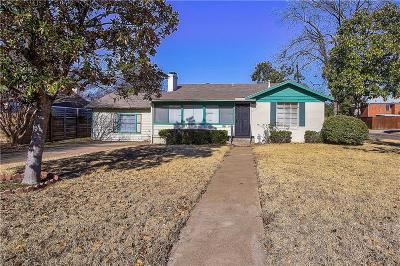 Dallas Single Family Home For Sale: 5025 Wateka Drive