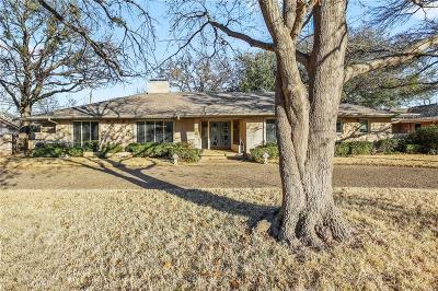 Dallas Single Family Home For Sale: 13316 Hughes Lane