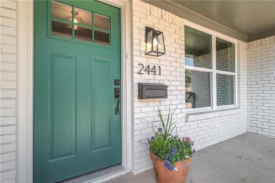 Dallas Single Family Home For Sale: 2441 Wildoak Drive