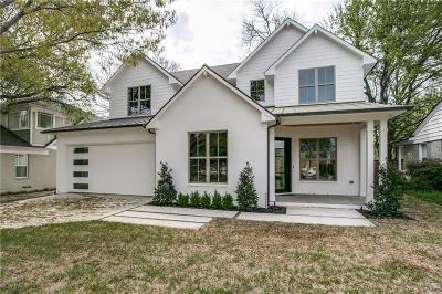 Dallas Single Family Home For Sale: 6322 Sudbury Drive