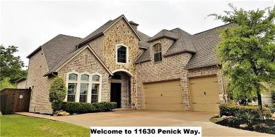 Frisco Single Family Home For Sale: 11630 Penick Way
