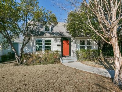Dallas Single Family Home For Sale: 1607 Kings Highway