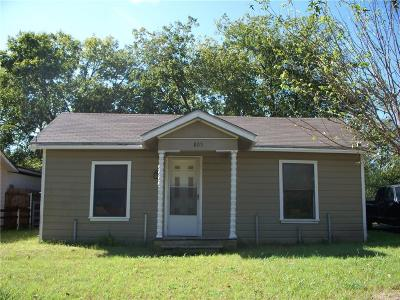 Weatherford Single Family Home For Sale: 805 N Rusk Street