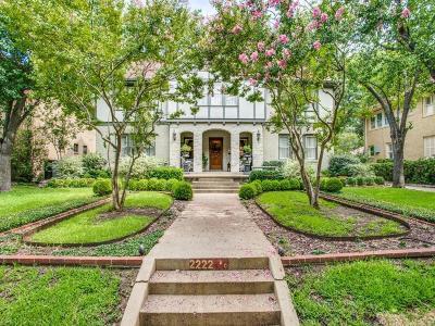 Fort Worth Single Family Home For Sale: 2222 Huntington Lane