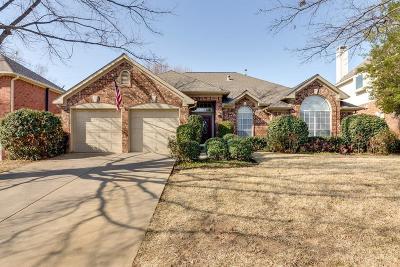 Grapevine Single Family Home For Sale: 2733 Hidden Lake Drive