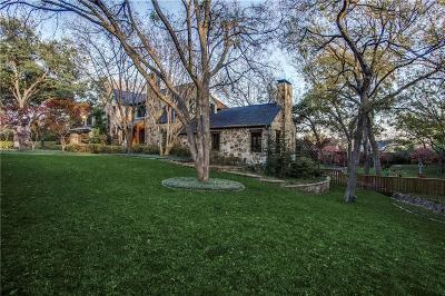 Dallas Single Family Home For Sale: 7148 Tokalon Drive