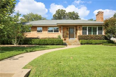 Dallas Single Family Home For Sale: 7111 Cornelia Lane