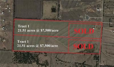 Caddo Mills Farm & Ranch For Sale: 754 County Road 2738 #Tract1