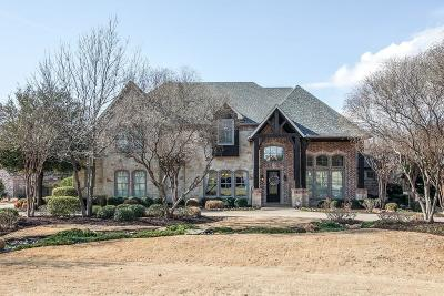 Flower Mound Single Family Home For Sale: 3901 Chimney Rock Drive