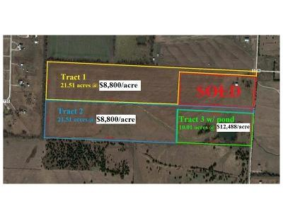 Caddo Mills Farm & Ranch For Sale: 754 County Road 2738 #Tract3