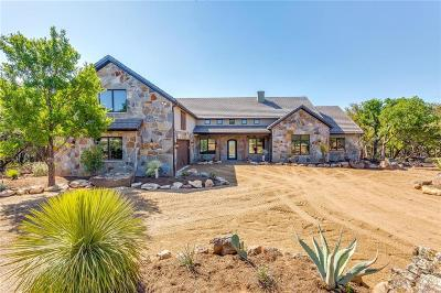 Graford Single Family Home For Sale: 1195 Keechi Trail