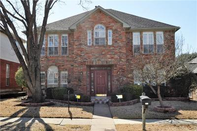 Carrollton Single Family Home For Sale: 1308 Cannes Drive