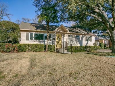 Dallas Single Family Home For Sale: 6631 Highgate Lane